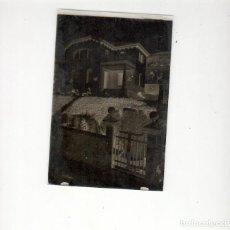 Fotografía antigua: FOTOGRAFIA: NEGATIVO SOBRE CRISTAL PRINCIPIOS SIGLO XX-CATALUNYA- BARCELONA -CASONA. Lote 136416658