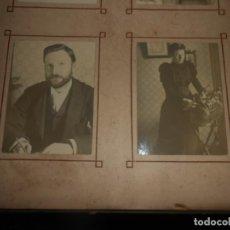 Fotografía antigua: ALBUM VICTORIANO DE FOTOGRAFIAS FAMILIA Y PAISAJES. Lote 136671050