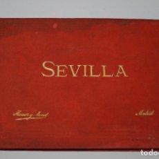 Fotografía antigua: SEVILLA. ALBUM DE 24 VISTAS EN FOTOTIPIA.. Lote 137897750