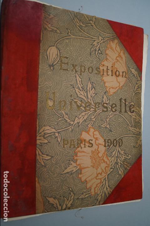 EXPOSITION UNIVERSELLE PARIS 1900. GRAN FORMATO (Fotografía Antigua - Ambrotipos, Daguerrotipos y Ferrotipos)