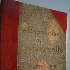 Fotografía antigua: EXPOSITION UNIVERSELLE PARIS 1900. GRAN FORMATO. Lote 138599922