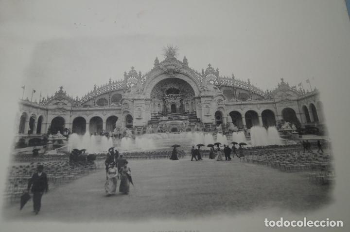 Fotografía antigua: EXPOSITION UNIVERSELLE PARIS 1900. GRAN FORMATO - Foto 3 - 138599922