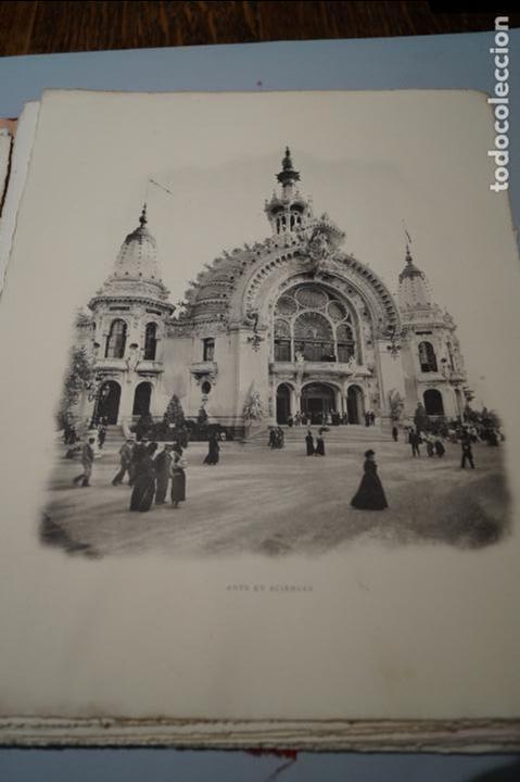 Fotografía antigua: EXPOSITION UNIVERSELLE PARIS 1900. GRAN FORMATO - Foto 4 - 138599922