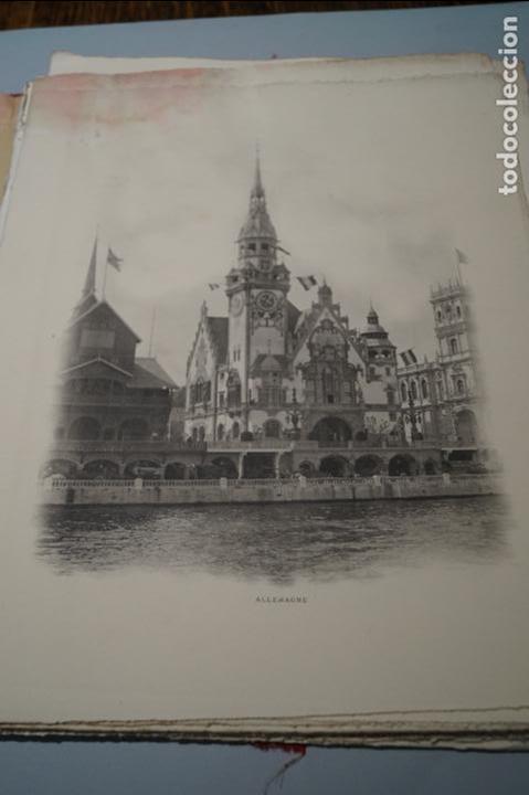 Fotografía antigua: EXPOSITION UNIVERSELLE PARIS 1900. GRAN FORMATO - Foto 5 - 138599922