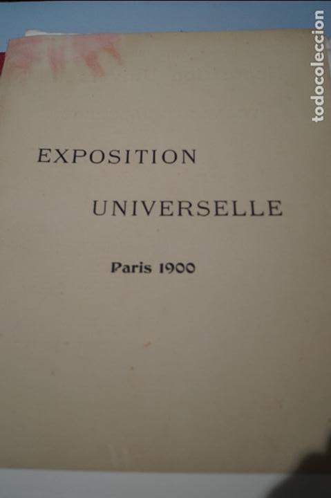 Fotografía antigua: EXPOSITION UNIVERSELLE PARIS 1900. GRAN FORMATO - Foto 8 - 138599922