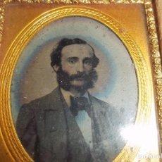 Fotografía antigua: DAGUERROTIPO TENERIFE. SABINO BERTHELOT. CIRCA 1840.TENERIFE.CANARIAS.UNICO.MUY DIFICIL.. Lote 142081770
