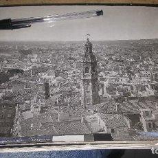 Fotografía antigua: VISTA PANORAMICA DE VALENCIA, SEGURAMENTE FOTO DE ESPLUGAS, 24 X 18 CM.. Lote 143037014