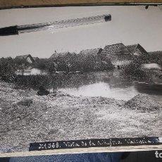 Fotografía antigua: VISTA DE LA ALBUFERA DE VALENCIA, FOTO DE ESPLUGAS, 24 X 18 CM.. Lote 143038358