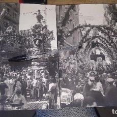 Fotografía antigua: FOTOGRAFIAS FIESTA MAJOR DE GRACIA, BARCELONA, 24 X 18 CM.. Lote 143041134