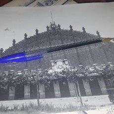 Fotografía antigua: ESTACION DEL NORTE, BARCELONA 1921, 24 X 18 CM.. Lote 143911978