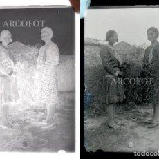 Fotografía antigua: ANTIGUO CRISTAL FOTOGRÁFICO - EL DE LAS FOTOS - COMO EN LAS FOTOS. Lote 152147466