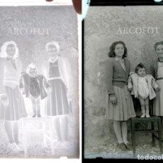 Fotografía antigua: ANTIGUO CRISTAL FOTOGRÁFICO - EL DE LAS FOTOS - COMO EN LAS FOTOS. Lote 152147506