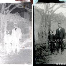 Fotografía antigua: ANTIGUO CRISTAL FOTOGRÁFICO - EL DE LAS FOTOS - COMO EN LAS FOTOS. Lote 152147522