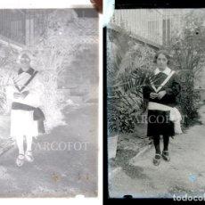 Fotografía antigua: ANTIGUO CRISTAL FOTOGRÁFICO - EL DE LAS FOTOS - COMO EN LAS FOTOS. Lote 152147558