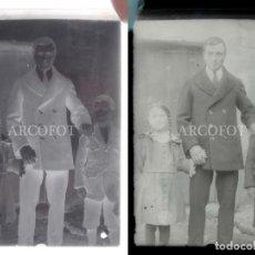 Fotografía antigua: ANTIGUO CRISTAL FOTOGRÁFICO - EL DE LAS FOTOS - COMO EN LAS FOTOS. Lote 152147606