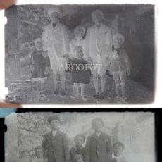 Fotografía antigua: ANTIGUO CRISTAL FOTOGRÁFICO - EL DE LAS FOTOS - COMO EN LAS FOTOS. Lote 152147698
