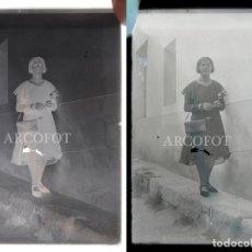 Fotografía antigua: ANTIGUO CRISTAL FOTOGRÁFICO - EL DE LAS FOTOS - COMO EN LAS FOTOS. Lote 152147810
