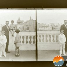 Fotografía antigua: CAJA CON 9 NEGATIVOS DE CRISTAL BARCELONA FAMILIA PEDRET. Lote 152269388