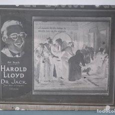 Fotografía antigua: NUMULITE C0131 CRISTAL DAGUERROTIPO ? HAROLD LLOYD EN DR. JACK POR HAL ROACH . Lote 155957754