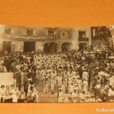 Fotografía antigua: ANTIGUA FOTOGRAFÍA MOROS Y CRISTIANOS EN ONTENIENTE ONTINYENT MARINOS - FINAL SIGLO XIX. Lote 157913234