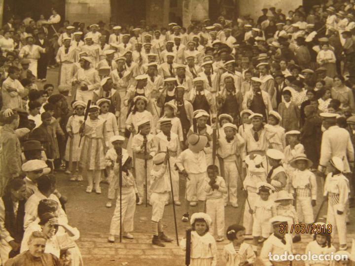 Fotografía antigua: Antigua Fotografía MOROS Y CRISTIANOS en ONTENIENTE Ontinyent MARINOS - Final Siglo XIX - Foto 2 - 157913234