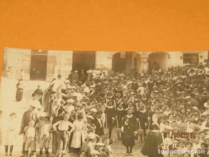 Fotografía antigua: Antigua Fotografía MOROS Y CRISTIANOS en ONTENIENTE Ontinyent ESTUDIANTES - Final Siglo XIX - Foto 2 - 157914002