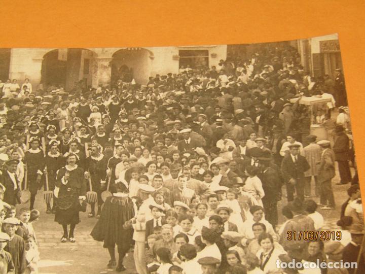 Fotografía antigua: Antigua Fotografía MOROS Y CRISTIANOS en ONTENIENTE Ontinyent ESTUDIANTES - Final Siglo XIX - Foto 3 - 157914002