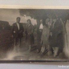 Fotografía antigua: FOTOGRAFÍA ANTIGUA - FAMILIA EN EL CAMPO. Lote 158458581