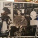 Fotografía antigua: EL ESCRITOR LINARES RIVAS, 24 X 18 CM.. Lote 159536862