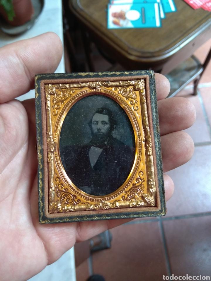 Fotografía antigua: Antiguo Ambrotipo Caballero - Foto 4 - 160312142