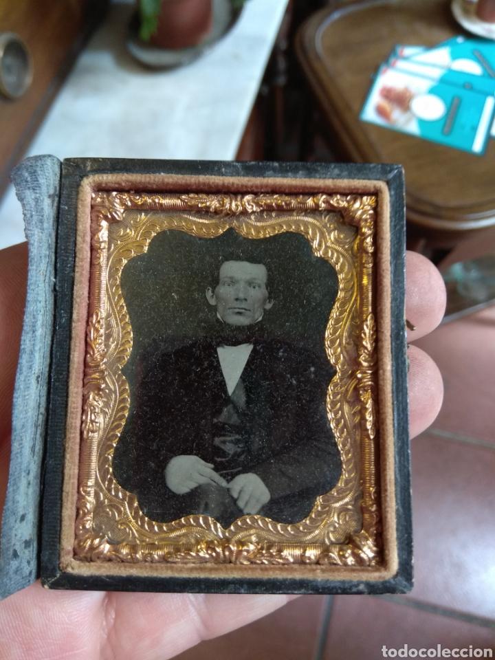 Fotografía antigua: Antiguo Ambrotipo Caballero - Foto 3 - 160312222
