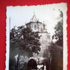 Fotografía antigua: FOTO ENTRADA DEL MONASTERIO DE VERUELA ZARAGOZA AÑO 1935. Lote 160836094
