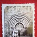 Fotografía antigua: FOTO DE LA PUERTA DE LA CATEDRAL DE VERUELA ZARAGOZA AÑO 1935. Lote 160836454