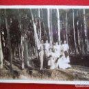 Fotografía antigua: FOTO FAMILIAR EN EL HUECHA, BORJA ZARAGOZA ÑO 1934. Lote 160837414