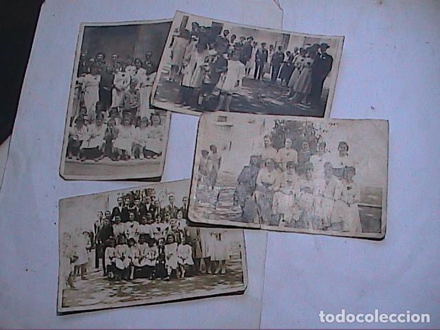 LOTE 4 FOTOGRAFÍAS ORIGINALES DE LAS FIESTAS ENRAMADES DE ARBÚCIES. GIRONA.1918. (Fotografía Antigua - Ambrotipos, Daguerrotipos y Ferrotipos)