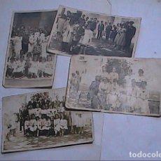 Fotografía antigua: LOTE 4 FOTOGRAFÍAS ORIGINALES DE LAS FIESTAS ENRAMADES DE ARBÚCIES. GIRONA.1918.. Lote 163552718