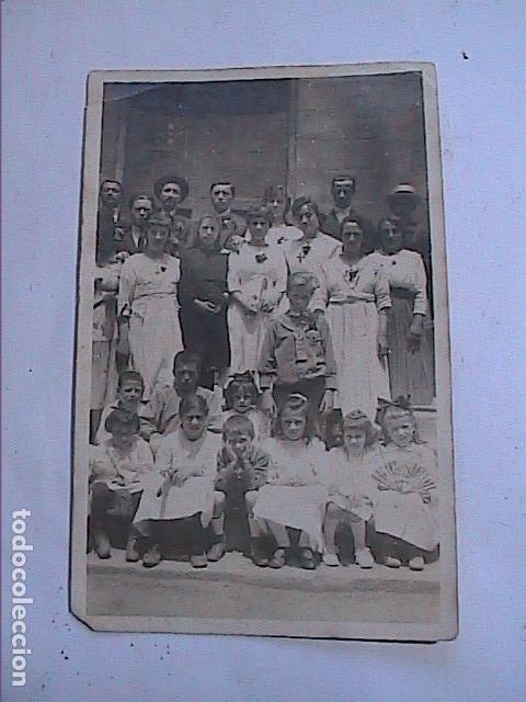 Fotografía antigua: LOTE 4 FOTOGRAFÍAS ORIGINALES DE LAS FIESTAS ENRAMADES DE ARBÚCIES. GIRONA.1918. - Foto 2 - 163552718