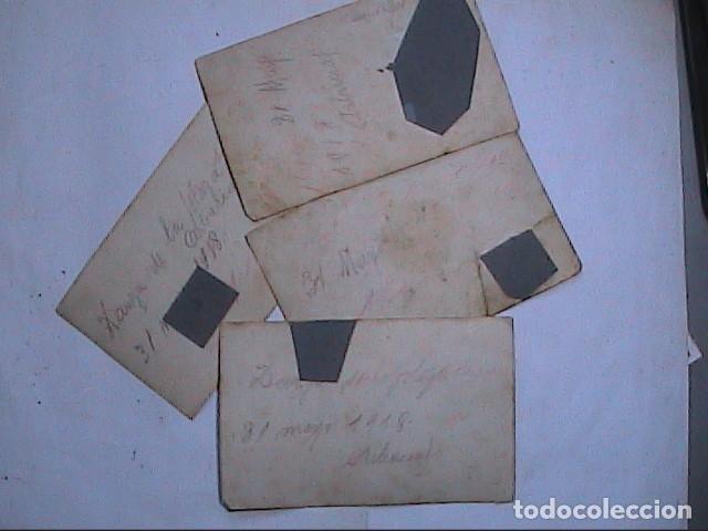 Fotografía antigua: LOTE 4 FOTOGRAFÍAS ORIGINALES DE LAS FIESTAS ENRAMADES DE ARBÚCIES. GIRONA.1918. - Foto 6 - 163552718