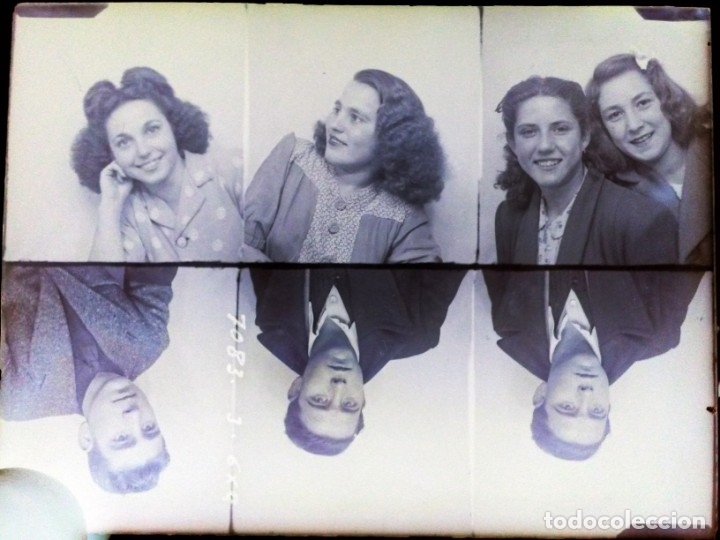 Fotografía antigua: Caja antigua de placas de negativos de cristal - Foto 19 - 164268626