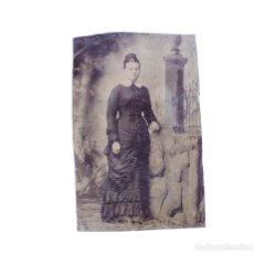 Fotografía antigua: FERROTIPOS 6,5 X 10 CM. Lote 165740326
