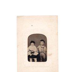 Fotografía antigua: CARTES DE VISITE. FERROTIPO. Lote 165740910