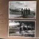 Fotografía antigua: GOLF 23 FOTOGRAFIAS ANTIGUAS CAMPO DE GOLF DE NEGURY Y CHIBERTA GOLFISTAS ESPAÑOLES MUJERES CLUB. Lote 166329590