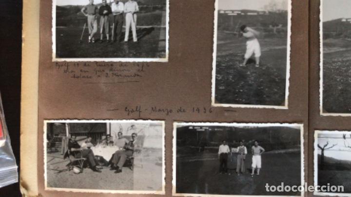 Fotografía antigua: golf 23 fotografias antiguas campo de golf de negury y chiberta golfistas españoles mujeres club - Foto 2 - 166329590