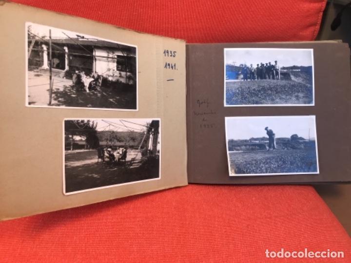 Fotografía antigua: golf 23 fotografias antiguas campo de golf de negury y chiberta golfistas españoles mujeres club - Foto 4 - 166329590