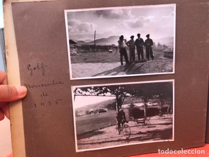 Fotografía antigua: golf 23 fotografias antiguas campo de golf de negury y chiberta golfistas españoles mujeres club - Foto 5 - 166329590