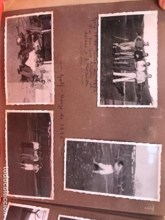 Fotografía antigua: golf 23 fotografias antiguas campo de golf de negury y chiberta golfistas españoles mujeres club - Foto 6 - 166329590