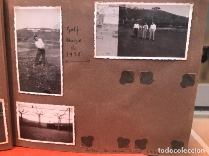 Fotografía antigua: golf 23 fotografias antiguas campo de golf de negury y chiberta golfistas españoles mujeres club - Foto 7 - 166329590
