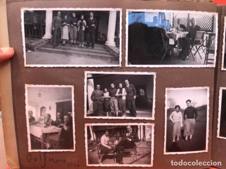 Fotografía antigua: golf 23 fotografias antiguas campo de golf de negury y chiberta golfistas españoles mujeres club - Foto 8 - 166329590