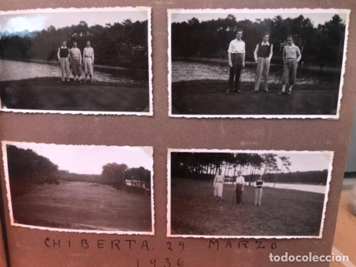 Fotografía antigua: golf 23 fotografias antiguas campo de golf de negury y chiberta golfistas españoles mujeres club - Foto 9 - 166329590