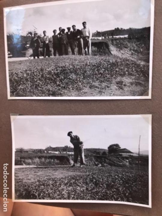 Fotografía antigua: golf 23 fotografias antiguas campo de golf de negury y chiberta golfistas españoles mujeres club - Foto 12 - 166329590